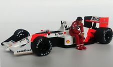 1/43 Ayrton Senna McLaren Honda figurine figure Sitting 1988 1989 1990 1991 MFH