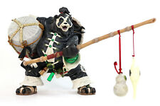 World of Warcraft Pandaren Brewmaster DC Unlimited Deluxe Figure USED 2009
