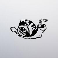 15cm Turbo Snail Funny Sticker Vinyl Decal Car Window Bumper Van Tuning Racing