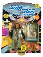 Star Trek The Next Generation Klingon Warrior WORF Action Figure NIP Unpunched