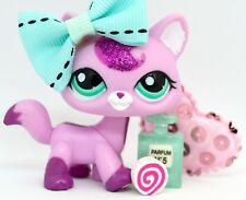 Littlest Pet Shop ULTRA RARE 2517 Glitter Pink Walking Short Hair Cat