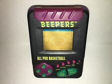 Tiger Basketball Beepers Electronic Handheld Game Tested