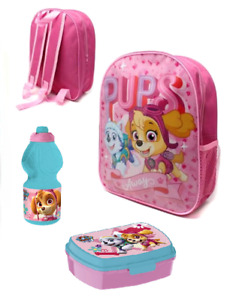 Minnie Mouse Rucksack Kinderrucksack Kindergarten Kita Trinkflasche Brotdose Set