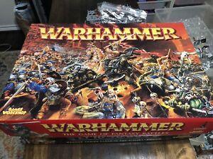 Games Workshop Warhammer Fantasy 6th Edition Battle Box Starter 99% Complete
