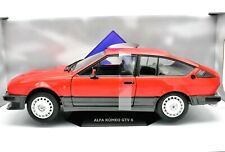 MODELLINO AUTO SCALA 1:18 ALFA ROMEO GTV 6 CAR MODEL SOLIDO COLLEZIONE COCHE