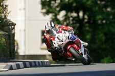 Michael Dunlop un-firmato 12x8 GLOSSY PHOTO. IOM TT. UGP. MOTO GP.