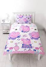 Articles de literie multicolores avec Peppa Pig pour enfant, pour chambre à coucher