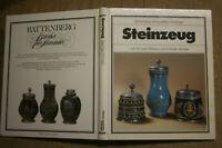 Sammlerbuch Steinzeug Keramik Krüge Kannen Töpferwaren Humpen Töpfer