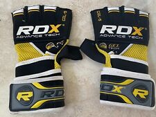 RDX Quick Wrap MMA Boxing Gloves Grappling Wrist Wraps Punch Bag Fight Muay Thai