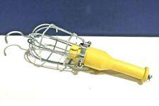 Ericson Yellow Portable Hand Lamp Job Light 744G NEW WOW!