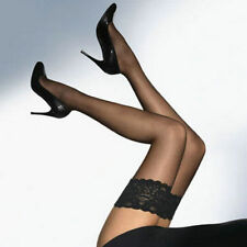 HOT Sexy black Sheer Lace Top Stay Up Thigh High Stockings Pantyhose