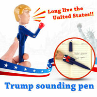 Donald Trump Talking Pen-Funny Gag Gift Make America Great Again You're Fired FT