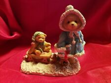 Enesco Cherished Teddies Mary A Special Friend Warms The Season 1993