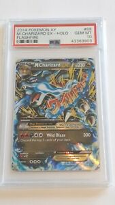 Pokemon XY M Charizard Ex Holo Flashfire #69 PSA10 Gem Mint