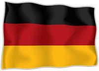 10x Autocollant Sticker drapeau allemagne allemand flag vinyle pour voiture moto