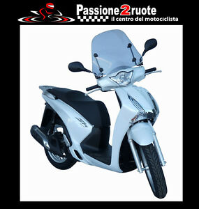 Screen Honda sh125i SH150i 2016 Wind Shield Summer Fabbri 2928LD