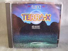 TERRA-X- Alliance- Atlantis- ZDF-Serien-Soundtrack- CBS 1988 WIE NEU