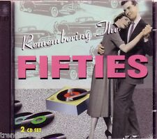 Remebering the Fifties 2CD Box Classic 50s Rock JOHNNY MATHIS RED FOLEY Rare OOP