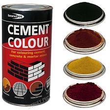Cement Dye Powder Colour Mortar Brick Pointing Render Concrete Bond-It Toner 1KG