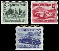 EBS Germany 1939 International Auto Show Berlin Volkswagen Michel 686-688 MH*