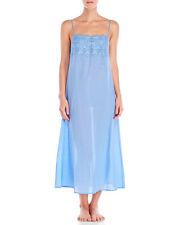 La Perla Sangallo S Cotton Nightgown Eyelet Detailing Blue
