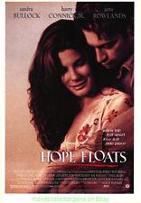 HOPE FLOATS MOVIE POSTER Original DS 27x40 SANDRA BULLOCK 1996