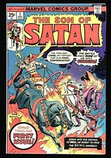 Son of Satan #1 Fine+, Gil Kane cover, Bronze Age action