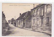 CPA 58140 MARIGNY L'éGLISE un coin du Bourg La Poste Edit ca1931
