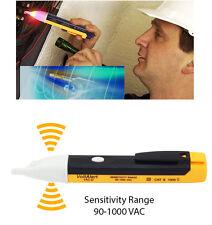 NUOVA Penna Tester LED AC Senza Contatto Elettrico Rilevatore di allarme Volt 90-1000v