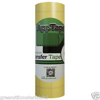 Reusable Application Tape Roll 150mm x 5M Vinyl Transfer Silhouette Portrait