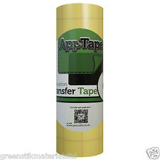 Reusable Application Tape Film Roll 150mm Vinyl Transfer Silhouette Portrait