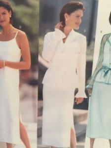 Butterick Sewing Pattern 6453 Ladies Misses Dress Top Size 6-10 Uncut