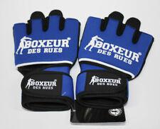 BOXEUR DES RUES Neopren fit Boxhandschuhe Blau S-M