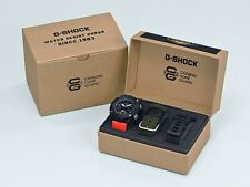 "Casio G-Shock GA-2000E-4C  CARBON CORE GUARD Watch ""NEW"" rare 3 strap box set !"