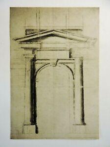 Print, Collotype, Classical, Michelangelo Buonarroti,1561, Alinari, Italy, c1995