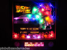 Back to The Future Complete LED Lighting Kit SUPER BRIGHT LED (B2TF)