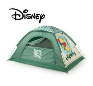 DISNEY Winnie the Pooh Dome camping Tent Rare 6'x4'x3' indoor outdoor