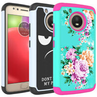 Case For Motorola MOTO E4 / E4 Plus / G5 Shockproof TPU Armor Hard Phone Cover