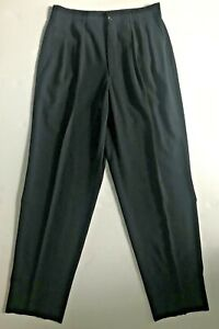 COMME des GARCONS Homme Vintage 90s Mens Wool Pleated Baggy Pant M Side Piping