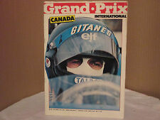 GRAND . PRIX INTERNATIONAL No 40 OCTOBER 14 TH 1981 CANADA