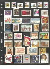 SHEET OF  40 CANADA  FINE USED STAMPS   SEE SCAN       ( 8 )