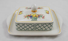Villeroy & and Boch BASKET butter dish EXCELLENT