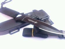 Pocket Survival Knife Diving Knife With Serrated Blade