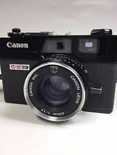 """Excellent++"" Canon Canonet QL17 G iii rangefinder film camera #50172"
