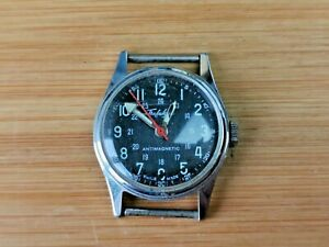 1940s Trafalgar 1 Jewel Mens Military wrist Watch, Needs Service, Vintage Watch