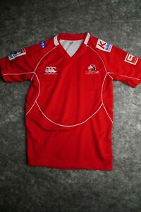 Canterbury Rugby Jersey Mens size Large Rare South Africa Lions Super redefine