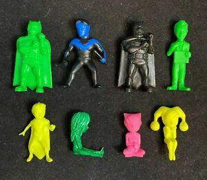 Kotobukiya LIL GOTHAM LOT of 8 Mini Figures DC Comics Batman Joker Harley Quinn