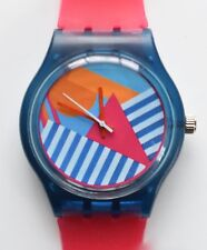 Abstract Geometric watch - Retro 80s Designer Wristwatch