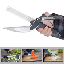Clever Cutter 2-in-1 Knife and Cutting Board Slicing Scissors As Seen on TV