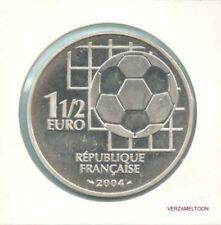 """FRANKRIJK SPECIALE 1½  EURO 2004  """"100 JAAR FIFA"""""""